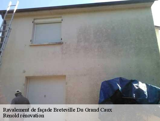 Ravalement de façade  breteville-du-grand-caux-76110 Renold rénovation